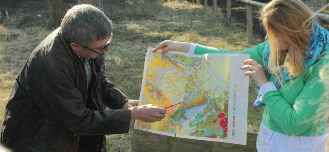 Die geologische Karte im Focus